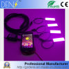 Smartphone Steuertag RGB-Auto-umgebendes Licht laufend