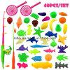 Il pesce di plastica impermeabile gioca il bambino esterno del gioco di pesca di divertimento