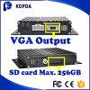 CCTVのバストラックのための小型移動式ビデオレコーダーDVRリアルタイム4CH SDのカード