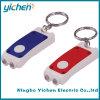 2개의 LED Keychain 플래쉬 등 (YC007A)