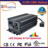 400W HPSのバラストと等しい低周波315watt CMH/HIDデジタルの電子バラスト