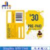 Tarjeta elegante electrónica del papel revestido RFID de la impresión para la tarjeta del VIP
