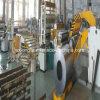 Bobine en acier fendant la chaîne de production