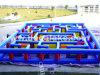 Labirinto gonfiabile del tessuto di Oxford, gioco gonfiabile di sport