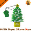 De hete PromotieStok van de Flits van de Boom van Kerstmis van de Gift USB (yT-Boom)