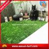 Relvado sintético artificial ajardinando decorativo da grama para o jardim