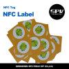 Hf Ntag impermeable de la escritura de la etiqueta de NFC 13.56MHz 216 RFID