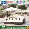 Sofà esterno del giardino della mobilia moderna del rattan (TG-JW44)