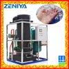 Máquina de gelo do tubo de alta eficiência para o processamento de alimentos e bebidas