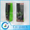 Bolso laminado Plástico-Papel de encargo del grano de café