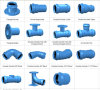 Garnitures de fer de Ducitle pour la pipe de PVC