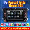 De Auto DVD GPS Gezeten Nav van Tiguan van het Golf van VW Jetta Passat