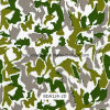 pellicole larghe di stampa di 1m Digitahi Camo Hydrographics, stampa di trasferimento dell'acqua, PVA, pellicole liquide di immagine per i punti esterni e pistole (BDA124-2D)