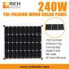 Tri-Складывая панель солнечных батарей 12V набора панели солнечных батарей 240W Mono складывая