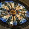 Teto de vidro da luz de abóbada da decoração Home com os painéis da construção de aço