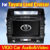 navegación del GPS del reproductor de DVD de la radio de coche de 8 '' HD para el crucero Prado (VTL8051) de la tierra de Toyota