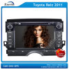Sistema de 8 de la pulgada HD multimedias del coche para Toyota Reiz 2011 con el cuadro del Rds del iPod del GPS Bluetooth en el cuadro (z-2961N)