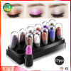 Oferta especial 12 colores impermeable Duradera Cosmetic Eyeshadow Stick