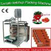 Bolsa automática Máquina de embalaje de ketchup para pegar el embalaje