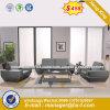 Moderno hotel luxuoso sofá de recepção de couro (HX-8N0804)