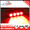 Testa 4LED dell'indicatore luminoso del supporto della superficie del LED che avverte CC di Lighthead 12/24V