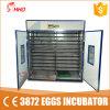 Oeuf complètement automatique Hatcher 4224 (YZITE-22) de machine d'établissement d'incubation de volaille