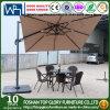 Petit Roman parapluie avec fonction de rotation de la canopée parapluie de jardin TG-003