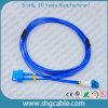 Sc LC Sm 이중 기갑 광섬유 접속 코드