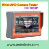 4.3 запястья Портативная HD 1080P 960p 720p Ahd тестер для CCTV камеры наблюдения за