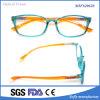 이탈리아 디자인 Tr90 투명한 프레임 플라스틱 안경알