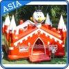 Castello rimbalzante del fumetto gonfiabile per la festa di compleanno dei bambini