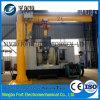 El almacén de la certificación de la ISO gira 360 grados de 2 toneladas de grúa de horca eléctrica