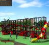 Campo da giuoco rampicante fisico di avventura della strumentazione del sistema di addestramento di sviluppo dei bambini di Kaiqi