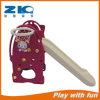 Пластиковый детского сада и сдвиньте игрушки