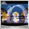 Luzes de rua ao ar livre do grande tamanho, decoração clara do feriado dos arcos (OB-CD15-52082)