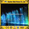 De drijvende Fontein van het Water van de Muziek van het Meer van de Fontein Dansende