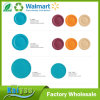 Bambusflacher Teller-Platte der faser-gehende grüne 8