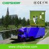 Schermo esterno del camion mobile LED di colore completo P10 di Chipshow