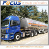 3배 반 차축 50cbm 알루미늄 연료유 유조 트럭 트레일러의 고품질
