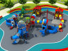 2016プラスチックMaterialおよびOutdoor Playground Type Kids Play Equipment Slides (HD16-015A)