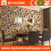 Papier peint populaire de la conception 3D de dessin-modèle avec la pierre de roulement