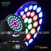 36*10W RGBW 4in1 기운 LED 이동하는 맨 위 세척 빛
