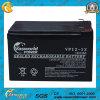 Batterie solaire d'acide de plomb scellée rechargeable respectueuse de l'environnement de Mf 12V 12ah