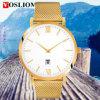 YXL-499 Nueva manera del reloj de malla de acero Relojes de la correa de los hombres de lujo de cuarzo relojes promocionales