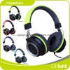 2017 auscultadores novos/auriculares do verde do estilo do metal do projeto
