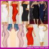 Da forma quente da venda de 2015 molas vestido novo da atadura da celebridade do estilo da forma da chegada. Vestido sexy do clube das mulheres (C-107)