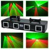 Toont het lichte de laserlicht van vier Lens Home Party projector
