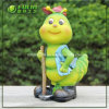 庭Decoration (NF50017-2)のための少しBuddy Farmer Resin Crafts