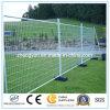 De bouw zit de Omheining van het Metaal van de Perimeter/Tijdelijke Omheining (Fabriek)