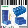 O engranzamento fura o escaninho Foldable da caixa de Plstic para a fruta e verdura